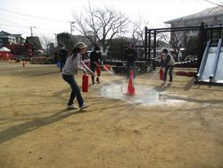 火災の避難訓練&004_.JPG