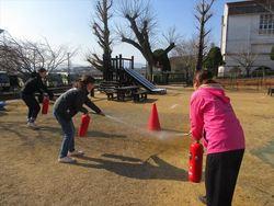 避難訓練〜消防署の方々が来たよ!〜003_R.JPG